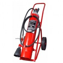 Image of the 20kg CO2 Wheeled Fire Extinguisher