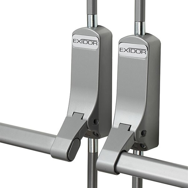 The Exidor 284 system is perfect for non-rebated double doors