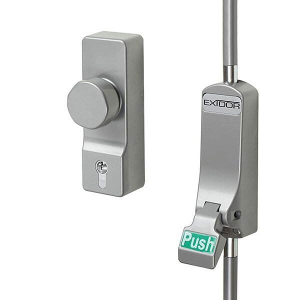 Exidor 293 Single Door Push Pad With Bolt