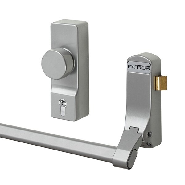 Exidor 296 Single Door Panic Bar With Latch From 163 37 99
