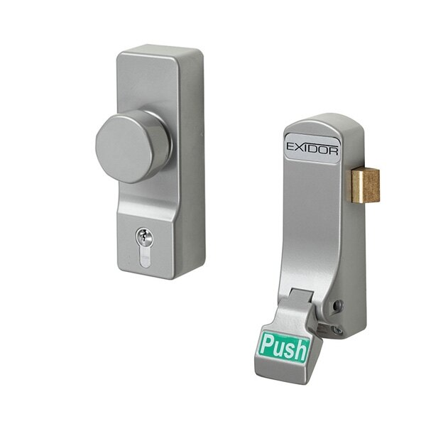 Exidor 297 Single Door Push Pad With Latch