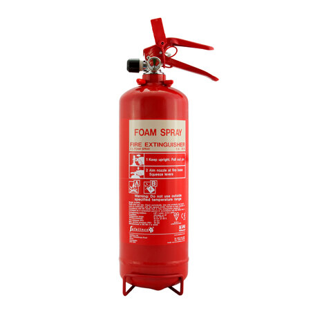 2ltr Foam Fire Extinguisher - Safelincs