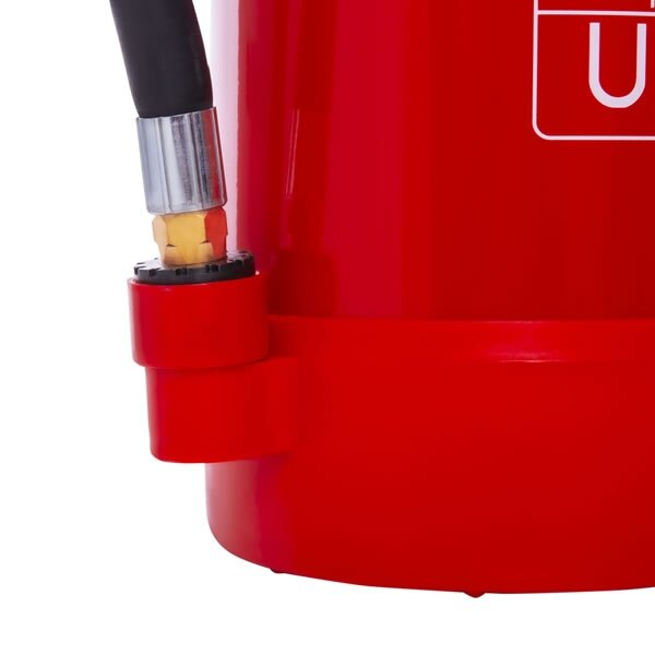 Can be used on class A, B, C, F type fires and live electrical equipment