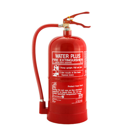 3ltr Water with Additive Fire Extinguisher - Safelincs