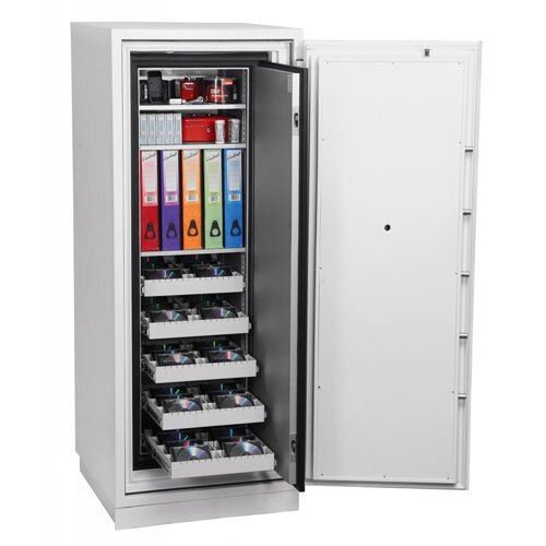 Data Commander 4622 Fire Data Safe drawers extended