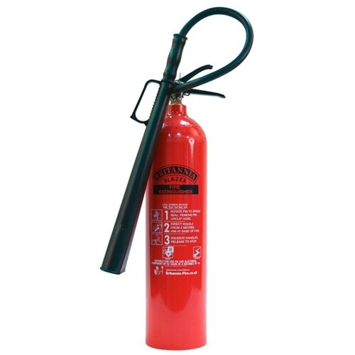 5kg CO2 Fire Extinguisher - Britannia