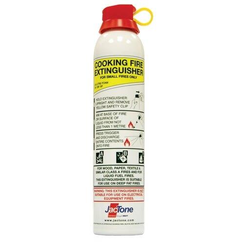jactone 600ml abf foam kitchen fire extinguishant aerosol