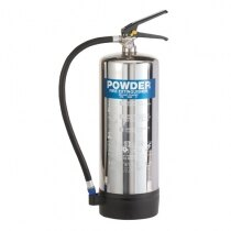 Image of the Stainless Steel 6kg Dry Powder Fire Extinguisher