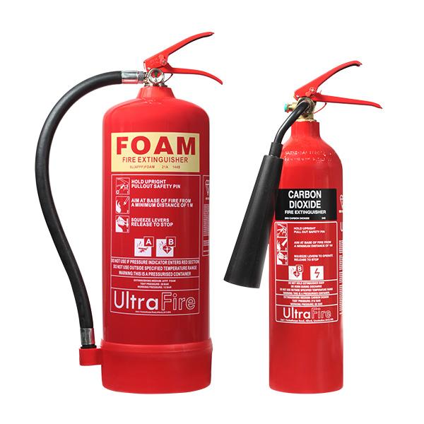 6ltr foam 2kg co2 fire extinguisher special offer 52. Black Bedroom Furniture Sets. Home Design Ideas