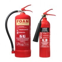 Image of the 6ltr Foam & 2kg CO2 Fire Extinguisher Special Offer