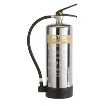 Image of the Stainless Steel 6ltr Foam Fire Extinguisher