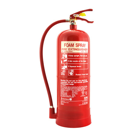 6ltr Foam Fire Extinguisher - Safelincs