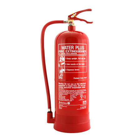 6ltr Water with Additive Fire Extinguisher - Safelincs