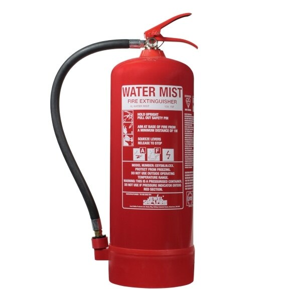 6ltr Water Mist Fire Extinguisher - E-Series