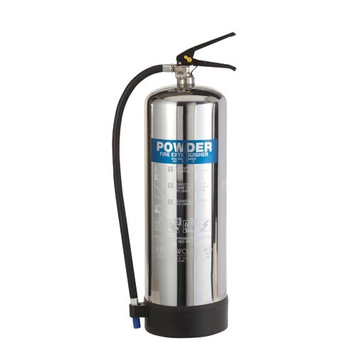 Stainless Steel 9kg Dry Powder Fire Extinguisher