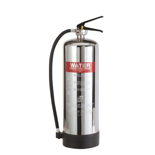 Stainless Steel 9ltr Water Fire Extinguisher