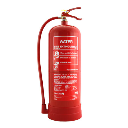 9ltr Water Fire Extinguisher - Safelincs