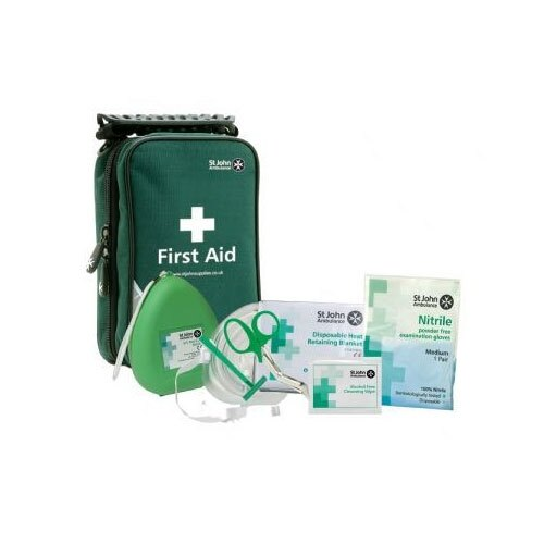 Supplied with a FREE AED responder kit