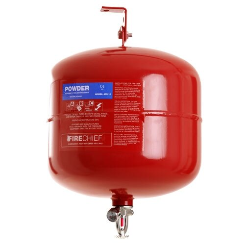 Automatic 10kg powder fire extinguisher