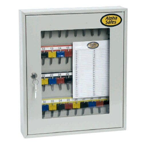 Alpha Clear Front Key Cabinet  A40CCK