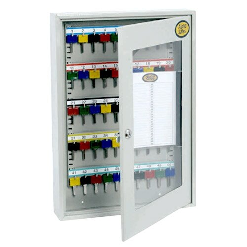 Alpha Clear Front Key Cabinet  A50CCK