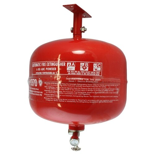 Automatic 6kg powder fire extinguisher