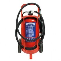 Image of the Britannia Norfolk 50kg Wheeled ABC Dry Powder Extinguisher
