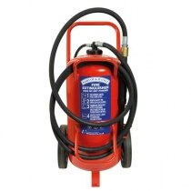 Image of the Britannia Norfolk 50kg Wheeled BC Dry Powder Extinguisher