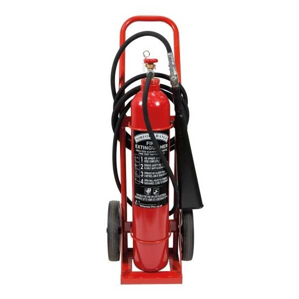 Britannia Norfolk 10kg Wheeled CO2 Extinguisher