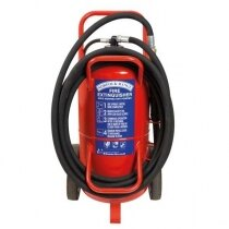 Image of the Britannia Norfolk 63kg Wheeled Monnex Powder Extinguisher