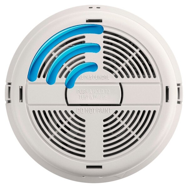 Mains Radio-Interlink Ionisation Smoke Alarm with Lithium Back-up - BRK 770RF