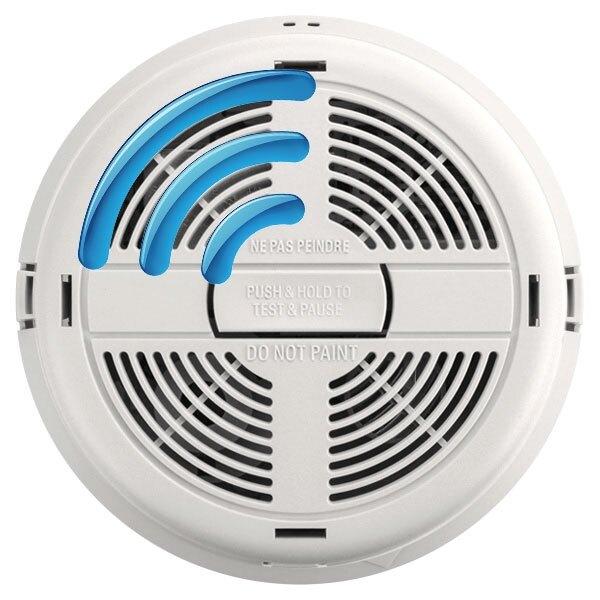 mains radio interlink smoke heat alarms with lithium back up brk 700r. Black Bedroom Furniture Sets. Home Design Ideas