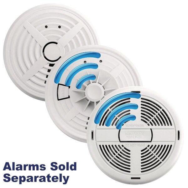 mains radio interlink smoke heat alarms with alkaline back up brk 600. Black Bedroom Furniture Sets. Home Design Ideas