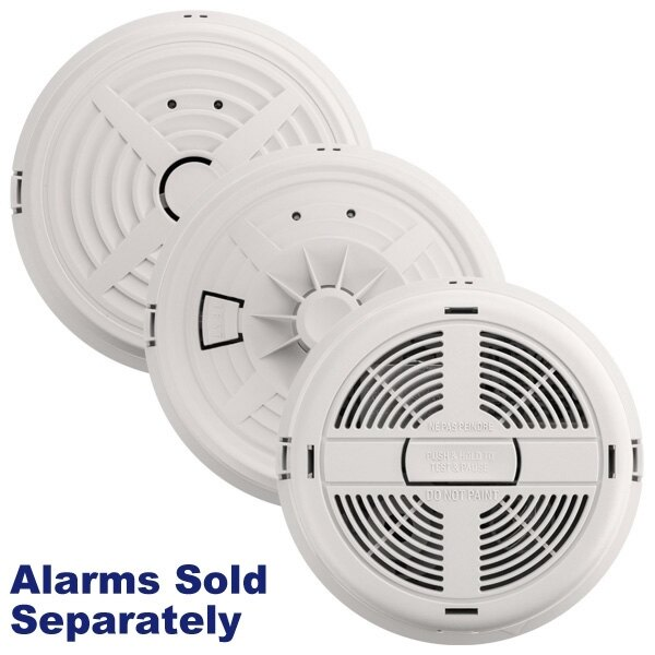 BRK Mains Powered Alarms with Lithium Back-up Battery
