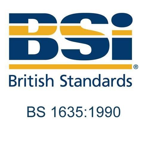 British Standard - BS 1635:1990 - Recommendations for graphic symbols and  abbreviations for fire protection drawings