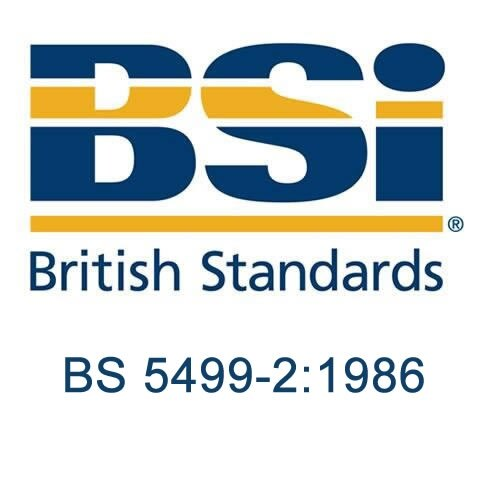 British Standard - BS 5499-2:1986 - Fire safety signs, notices and graphic symbols. Specification for self-luminous fire safety signs