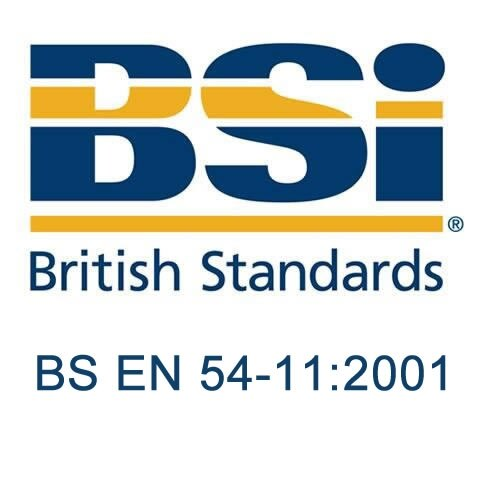 British Standard - BS EN 54-11:2001 - Fire detection and fire alarm systems. Manual call points
