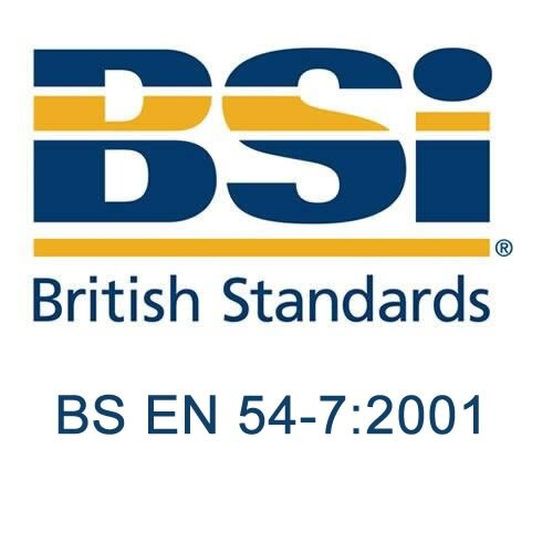 British Standard - BS EN 54-7:2001 - Fire detection and fire alarm systems. Smoke detectors. Point detectors using scattered light, transmitted light or ionization