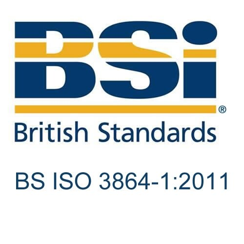 British Standard - BS ISO 3864-1:2011 - Graphical symbols and signs. Safety signs, including fire safety signs. Specification for geometric shapes, colours and layout