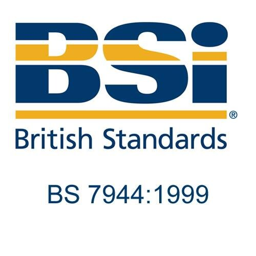 British Standard - BS 7944:1999 - Type 1 Heavy Duty Fire Blankets And Type 2 Heavy Duty Heat Protective Blankets