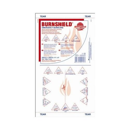 St John Ambulance Burnshield® Dressing 200x200mm