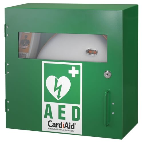 CardiAid Indoor Cabinet with Metal Cover