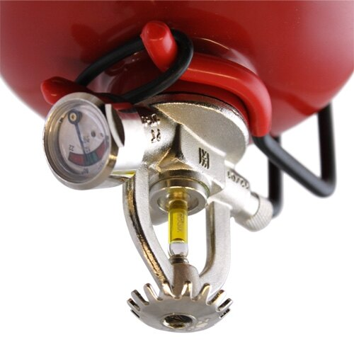Small Automatic Powder Fire Extinguishers