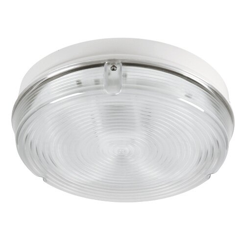 Decorative high output emergency bulkhead LED - round version