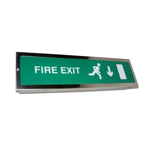 Recessed Slimline Emergency Fire Exit Sign Slave Unit - ESDR/SL