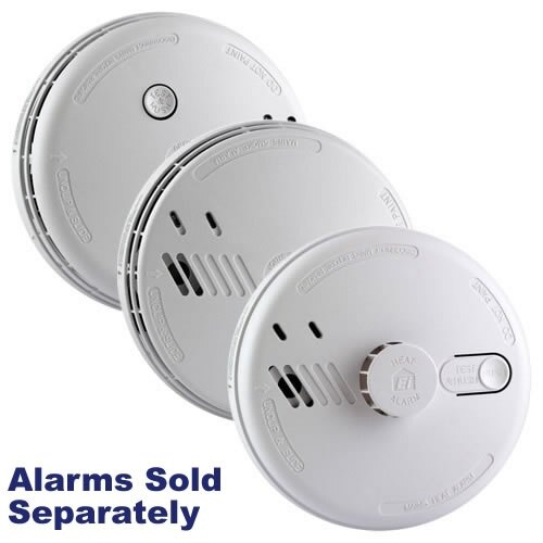 Aico Mains Powered Smoke Alarms with Alkaline Back-up Battery Ei140 Series