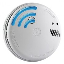 Image of the Mains Radio-Interlinked Optical Smoke Alarm with Alkaline Back-up - Ei146RF