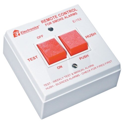 230V Remote Control Switch with Test and Hush Function - Ei152