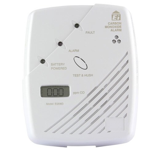 Carbon Monoxide Detector with digital display - Ei206D
