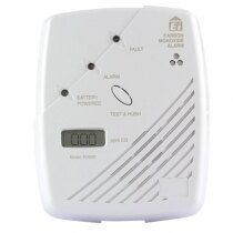 Image of the Carbon Monoxide Detector with digital display - Ei206D